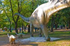 Diplodocus - stock photo