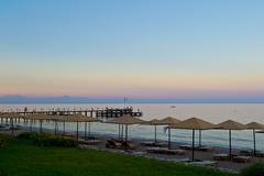 Stock Photo of Romantic decline on coast of the mediterranean sea