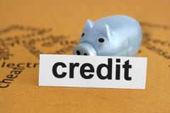 credit concept - stock photo