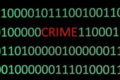 web crime - stock photo