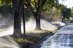Irrigation Stock Photos