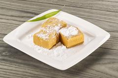 Chinese cake dessert Stock Photos