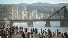Vina del Mar, Chile Stock Footage