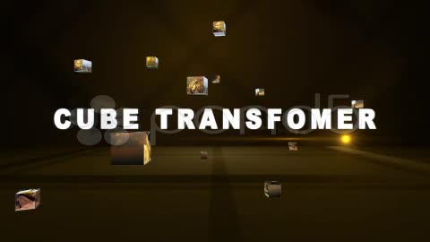 After Effects Project - Pond5 Cube Transformer 12015507