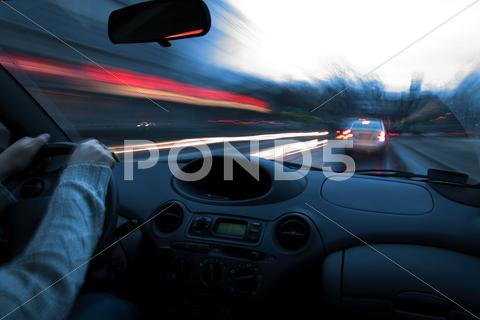Stock photo of Night drive