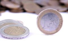 Money - euro currency Stock Photos