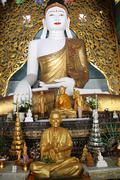 White buddha Stock Photos
