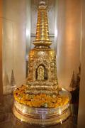 golden stupa - stock photo