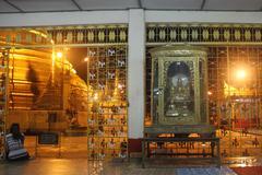 Stock Photo of inside buddhist temple