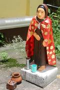 woman spirit - stock photo