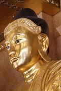 Head of buddha Stock Photos