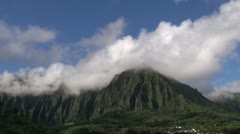 Time lapse, Hawai mountain Stock Footage