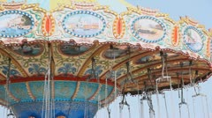 Swing Ride Stock Footage