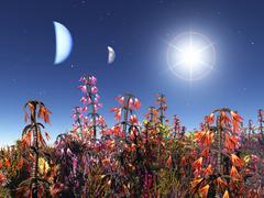 Exoplanet Stock Illustration