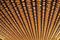 fifties designed ceiling - stock photo