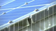Stock Video Footage of Photovoltaic Solar Panel