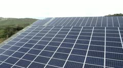 Photovoltaic Solar Panel - stock footage