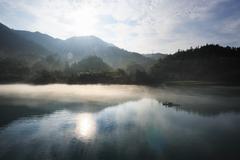 river landscapes - stock photo