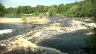 Stock Video Footage of Rushing Water