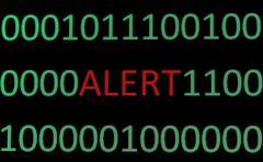 Stock Photo of alert