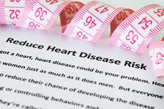 Heart disease risk Stock Photos