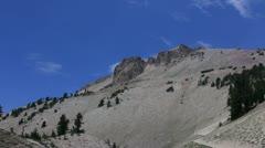 Lassen 11 Mt Lassen Trailhead Stock Footage