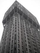 Stock Photo of torre velasca brutalist architecture milan