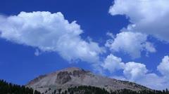 Lassen 16 Mt Lassen Clouds - stock footage