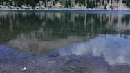 Lassen 20 Timelapse x20 Lake Helen Stock Footage