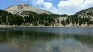 Lassen 32 Timelapse Lake Helen Stock Footage