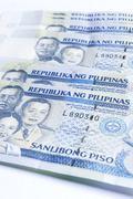 philippines peso - stock photo