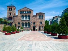 agios dimitrios church, thessaloniki, macedonia, greece - stock photo