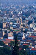 View on athens from acropolis, athens, greece Stock Photos