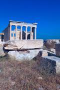 Erechteion, acropolis, athens, greece Stock Photos
