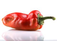 red chilli peppers - stock photo