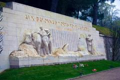 monument of victims of first world war,  bayonne, france - stock photo