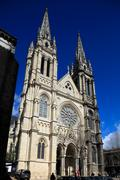 Eglise saint-louis des chartrons, bordeaux, france Stock Photos