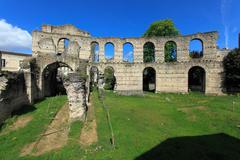 Stock Photo of palais gallien, roman amphitheatre (2 c.), bordeaux, france