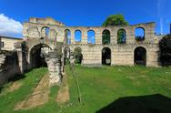 Stock Photo of palais gallien, roman amphitheatre (2 c.), bordeaux, france