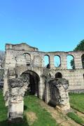 Palais gallien, roman amphitheatre (2 c.), bordeaux, france Stock Photos