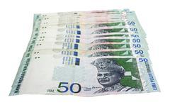 malaysian ringgit - stock photo