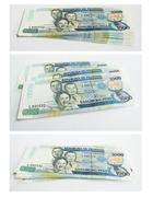Philippines peso collage Stock Photos