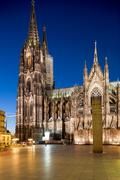 kölner dom, officially hohe domkirche st. peter und maria, cologne, germany - stock photo