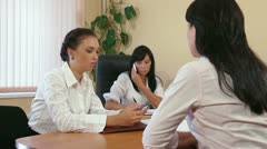 Designers Business Meeting Stock Footage
