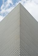 Stock Photo of building with metal surface