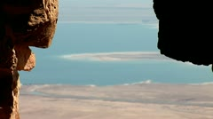 Stock Video Footage of View from Masada