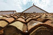 Stock Photo of tiled roof in dubrovnik, croatia