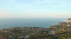 Cefalù (Palermo) Sunset - stock footage