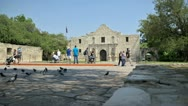 Stock Video Footage of Alamo San Antonio