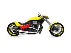 isolated moto on a white background - stock illustration